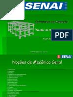 Aula 1 - Noções de Mecânica Geral