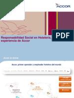 Responsabilidad social en Hotelería, experiencia de Accor.