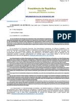 Www.planalto.gov.Br Ccivil 03 Leis LCP Lcp64