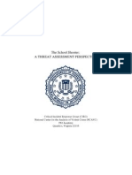school shooter report