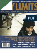 City Limits Magazine, January 2003 Issue