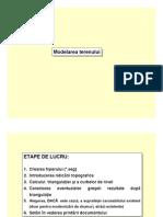 3. Modelarea terenului
