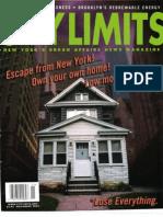 City Limits Magazine, November 2003 Issue