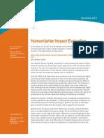 Humanitarian Impact Evaluation Meeting Note 2012