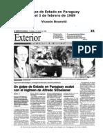 Golpe de Estado en Paraguay (3 de Febrero de 1989)