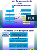 Fases Del Anteproyecto