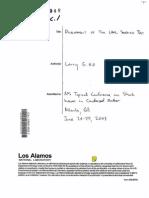 Larry G. Hill- Development of the LANL Sandwich Test