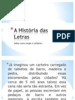 A História das Letras