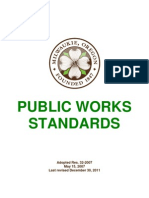 City of Milwaukie Standards - 2011 - Rev 12-11