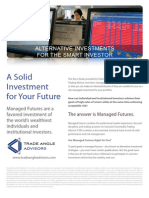 Managed Futures and Trade Angle Advisors