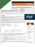 Developing Custom Mediations for WebSphere Enterprise Service Bus