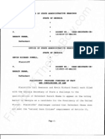 2011-02-01 SWENSSON|POWELL -  Proposed Findings of Fact and Conclusions of Law