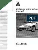Mitsubishi ECLIPSE 2G Service Manual