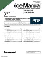 TH-24PX50U Service Manual