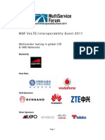 MSF VoLTE 2011 Whitepaper