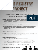 Job Registry Project Complex