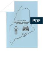 Maine Drivers Permit Exam Manual