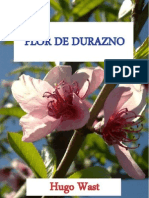 Flor de Durazno Hugo Wast