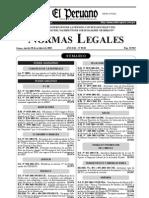 Reglemento de La Ley 28051 PDF