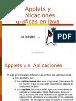 Applets y Aplicaciones gráficas en Java