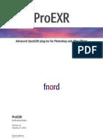 ProEXR Manual