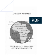 Africana Womanism Graphic