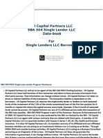CH Capital 504 Single Borrowers Program