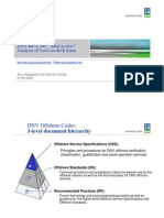 DNV-RP-C205–what is new Analysis of wave-in-deck loads