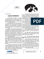 Coach Ferentz - 02 01 12