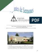 Apuntes Sermones 20-07-08