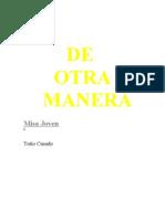 Misa Joven I. de Otra Manera. Letras Con Acordes