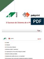 Apresentacao E-procurement
