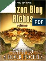 Amazon Blog Riches