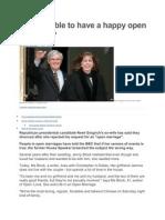 Open Marriage Comparison