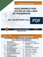 Construccion de Una Linea de Transmision Actividades Minimas[1]