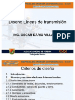 Diseño líneas de transmisión