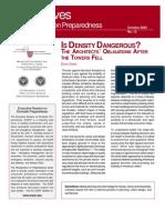 David Dixon- Is Density Dangerous?