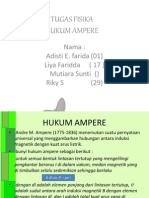 Fisika - Hukum Ampere