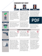 Candidate Fact Sheet