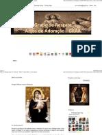 (Grupo de Resgate Anjos de Adoração - GRAA_ Virgem Maria contra Satanás)