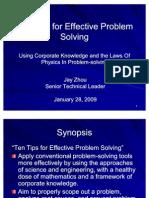 10 Tips Solving Problem