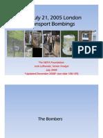 The NEFA Foundation- The July 21, 2005 London Transport Bombings