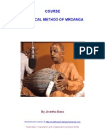 Practical Method of Mrdanga by Jivartha Dasa (mridanga)
