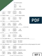 SAL English UPSR Grammar Q16-20