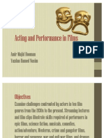 Acting in Cinema