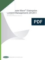enterprise content management vendors q4 2011