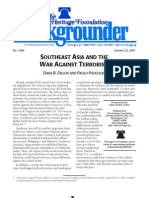 Dana R. Dillon and Paolo Pasicolan- Southeast Asia and the War Against Terrorism