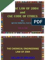 ChE 555 Code of Ethics