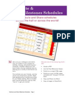 Distribute and Share Your Schedules