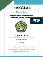 Definisi Al-Quran, Hadis Nabawi Dan Hadis Qudsi PDF